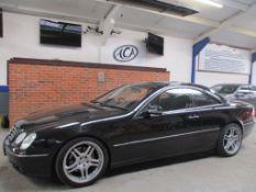 02 02 Mercedes CL500 Auto