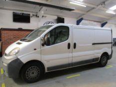 54 04 Vauxhall Vivaro 2900 DTI LWB
