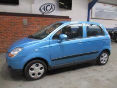 09 09 Chevrolet Matiz SE Plus