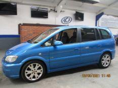 54 04 Vauxhall Zafira GSi Turbo