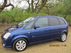 06 06 Vauxhall Meriva Design CDTI