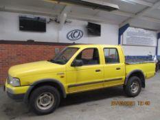 03 03 Ford Ranger 4x4 Turbo Diesel