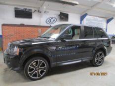13 13 Range Rover Sport HSE Black