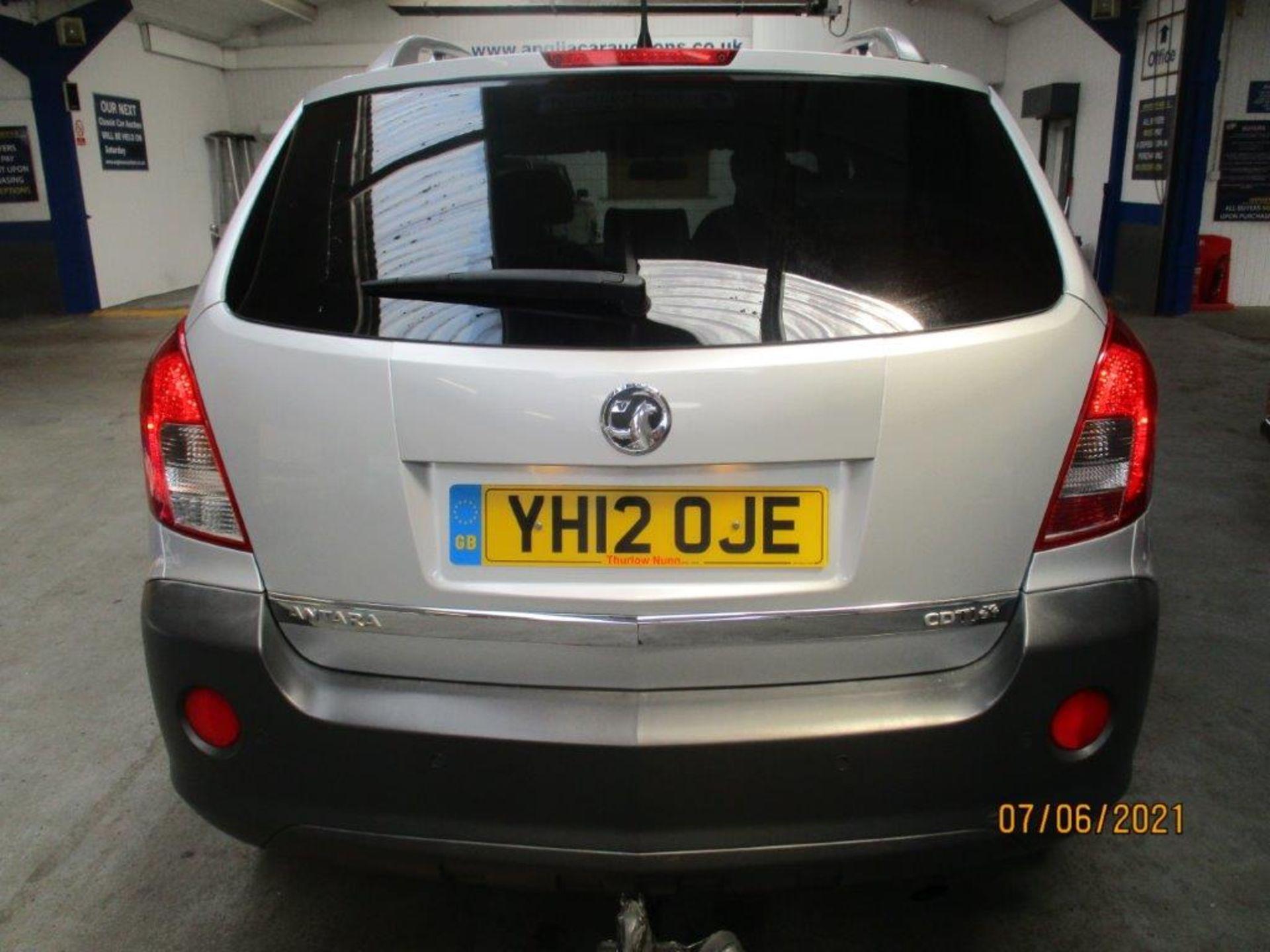 12 12 Vauxhall Antara Excl CDTI - Image 4 of 18