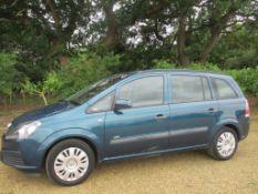 07 57 Vauxhall Zafira Life MPV