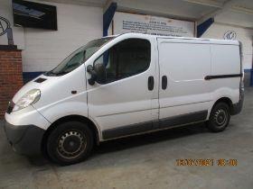 07 07 Vauxhall Vivaro 2700 CDTi