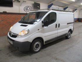 08 08 Vauxhall Vivaro 2700 CDTI SWB