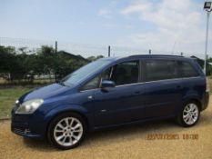 06 06 Vauxhall Zafira