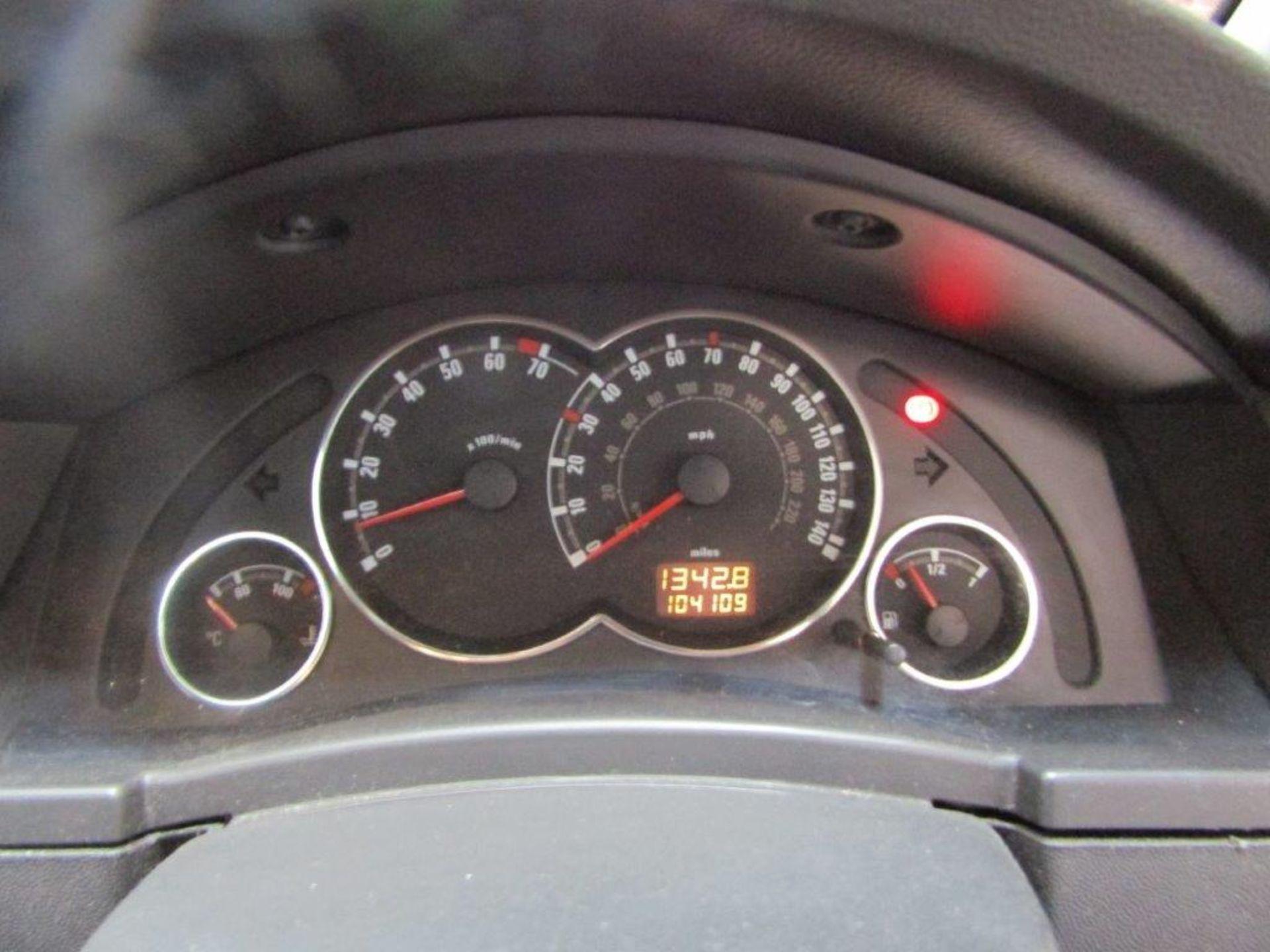 58 08 Vauxhall Meriva Design - Image 5 of 25