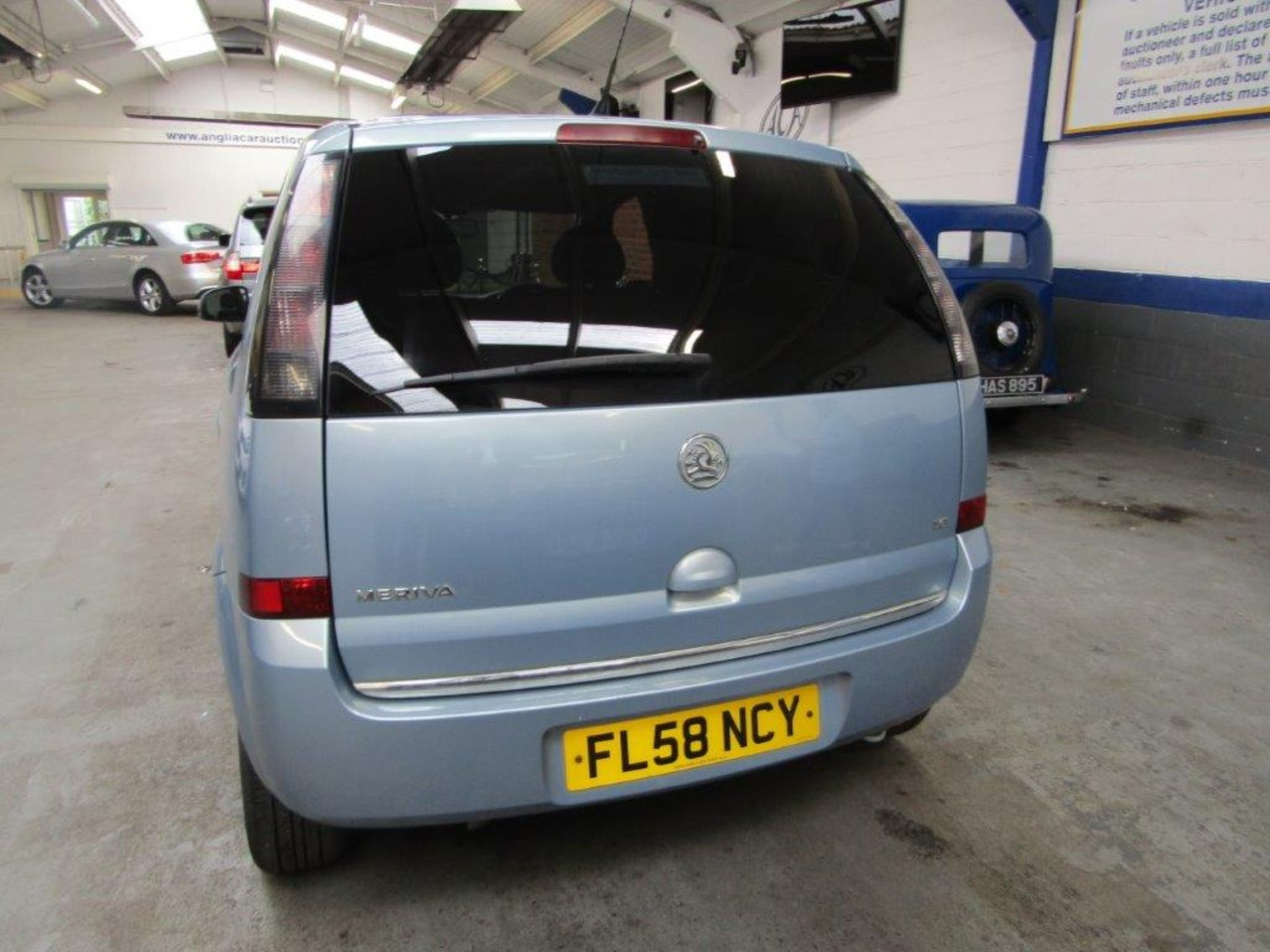58 08 Vauxhall Meriva Design - Image 9 of 25