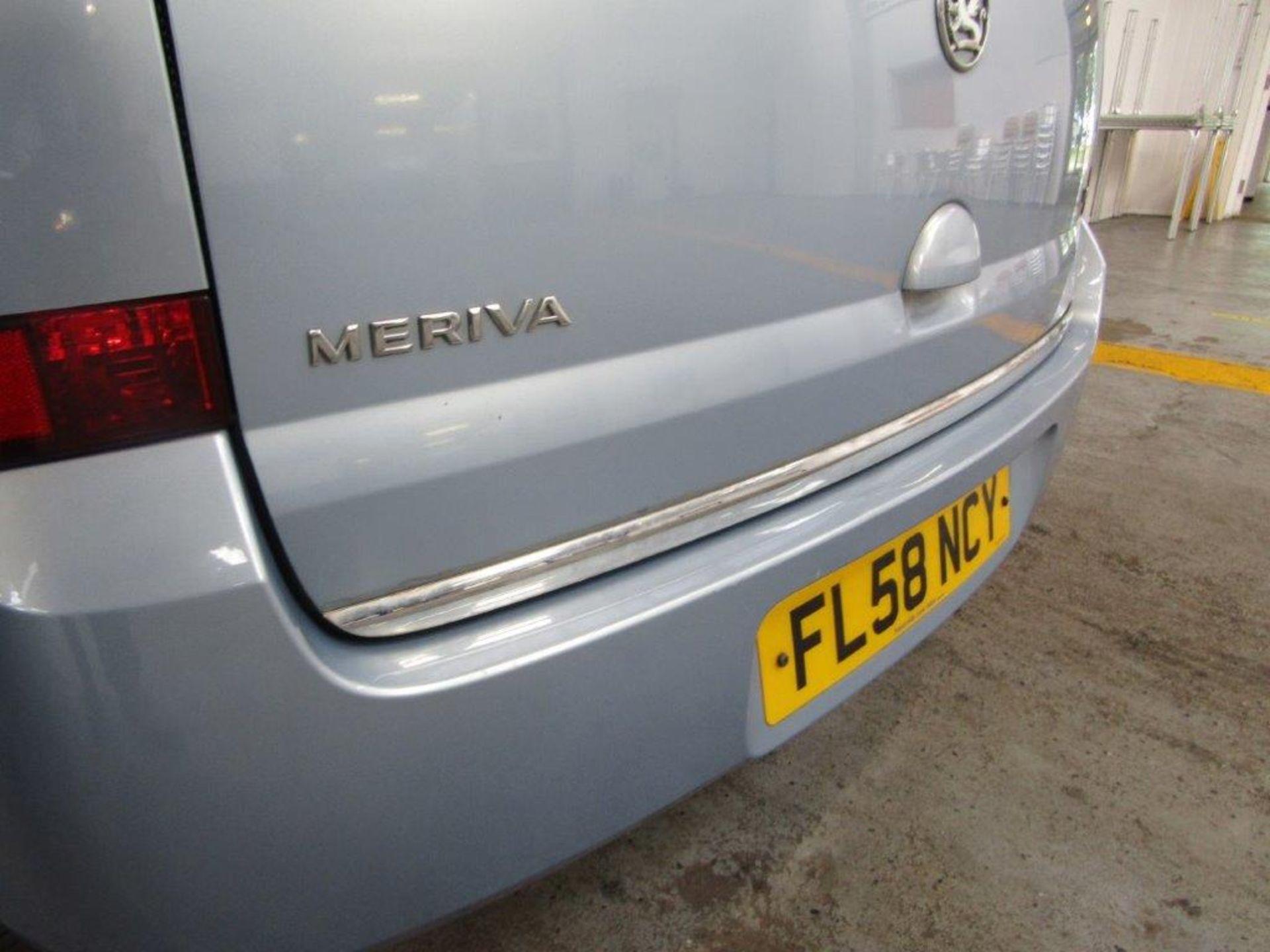 58 08 Vauxhall Meriva Design - Image 13 of 25
