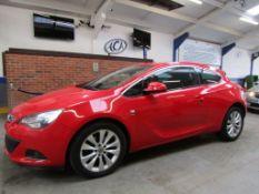 13 13 Vauxhall Astra GTC SRI CDTI