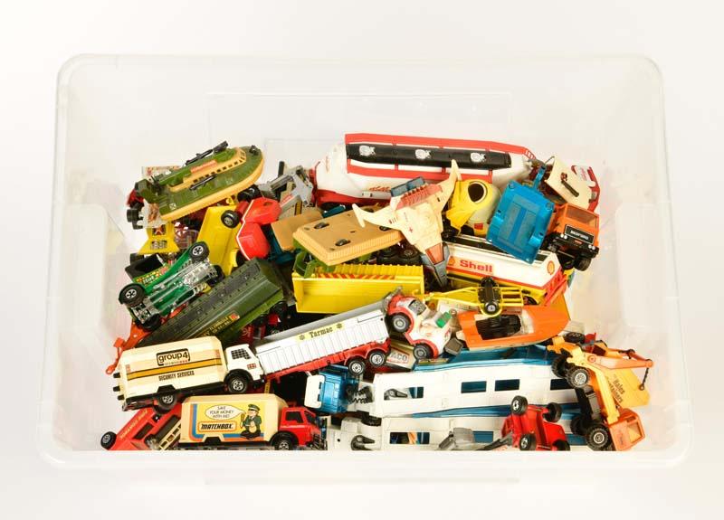 Matchbox u.a., Konvolut Fahrzeuge