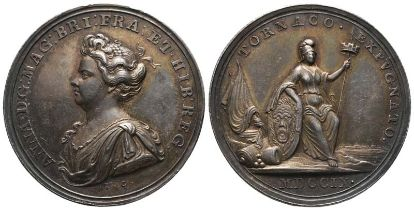 Großbritannien, Anne 1702-1714, Silbermedaille