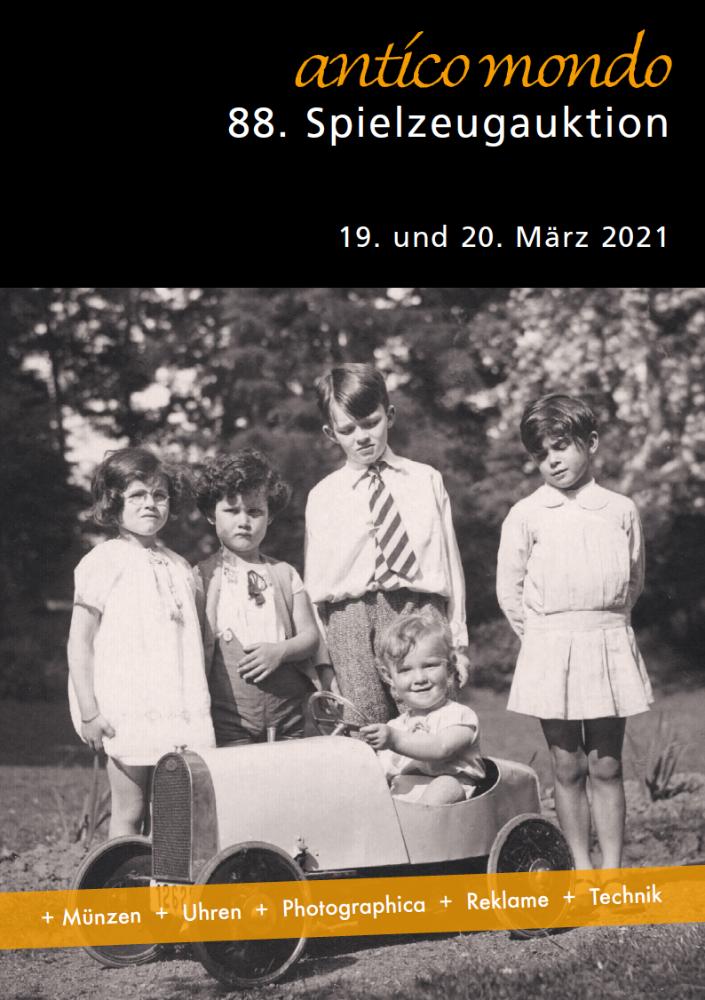 88. Spielzeug- und Varia-Auktion