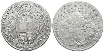 Römisch Deutsches Reich, Josef II. 1765-1790, Konv. Taler