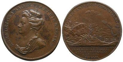 Großbritannien Anne, 1702-1714, Bronzemedaille