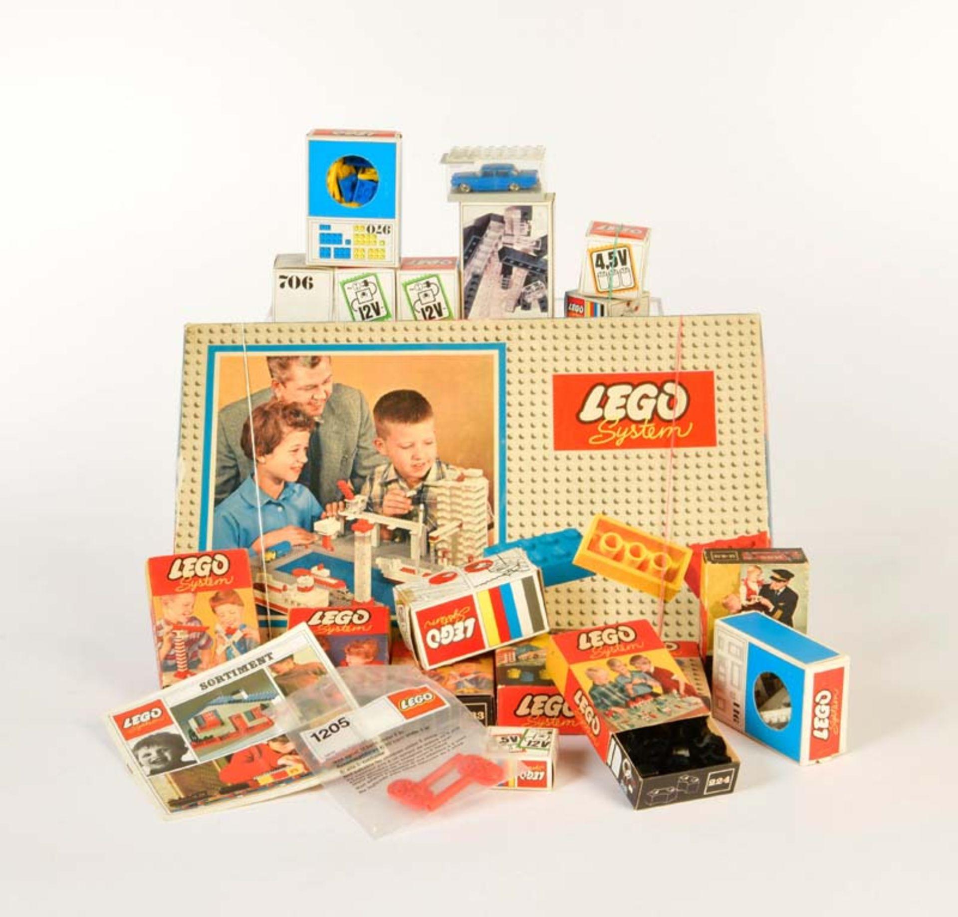 Lego, Mercedes + diverse Baukästen (700/1 u.a.)