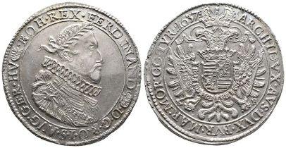 Römisch Deutsches Reich, Ferdinand II. 1619-1637, Reichstaler
