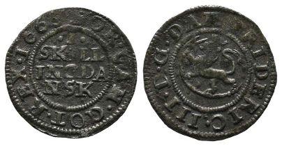 Norwegen, Frederik III. 1648-1670, Skilling