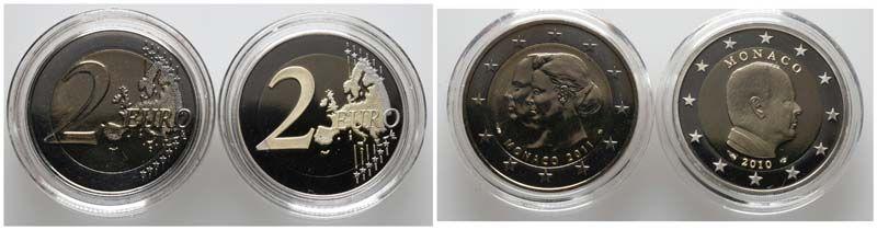 Monaco, 2 Euro