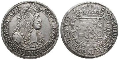 Römisch Deutsches Reich, Leopold I. 1657-1705, Reichstaler