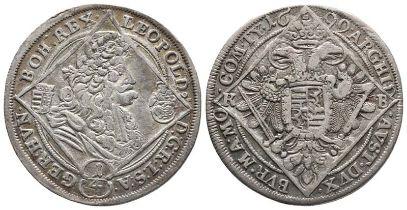 Römisch Deutsches Reich, Leopold I. 1657-1705, 1/4 Taler