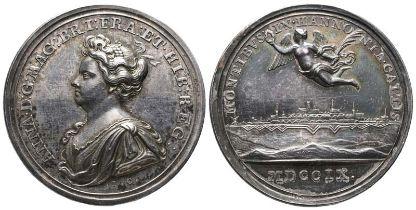Großbritannien, Anne, 1702-1714, Silbermedaille