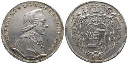 Römisch Deutsches Reich, Erzbistum Salzburg, Hieronymus Graf Colloredo 1772-1803, Taler