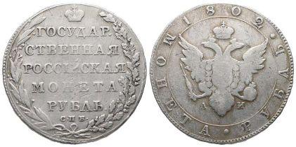 Russland, Alexander I. 1801-1825, Rubel