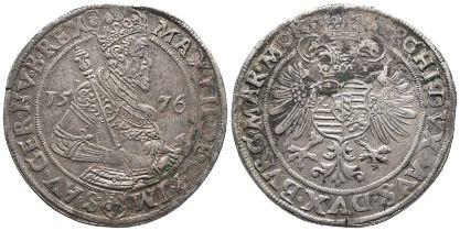 Römisch Deutsches Reich, Maximilian II. 1564-1576, Reichstaler