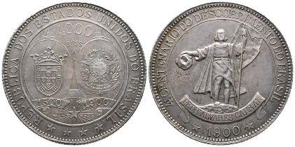 Brasilien, Republik seit 1889, 4000 Reis