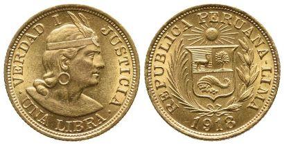 Peru, Republik, Libra