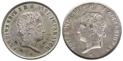 Römisch Deutsches Reich, Franz II. 1792-1806, einseitiger Abschlag des 20 Kreuzer Stücks