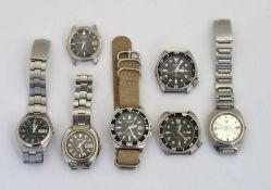 Seiko, 7 Armbanduhren