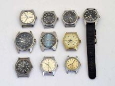 Tressa, Silvana, Saxonia u.a., 10 Armbanduhren