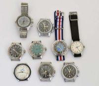 9 Armbanduhren