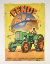 "Plakat ""Fendt Traktoren"""