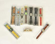 10 Swatch Uhren