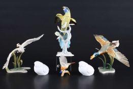 Konvolut Porzellanvögel, porcelain birds,