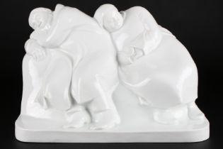 Meissen schlafendes Bauernpaar Ernst Barlach, sleeping farmer couple,