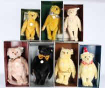 Steiff Konvolut von 5 Stofftieren / Bären, Steiff stuffed animals,