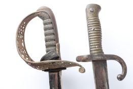 Säbel und Bajonett-Schwert, saber and sword bayonet,