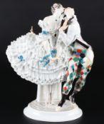 Meissen Harlekin und Columbine aus dem Russischen Ballet, harlequin and columbine russian ballet,