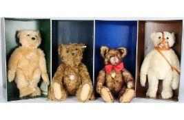Steiff Konvolut von 4 Stofftieren / Bären, Steiff stuffed animals,