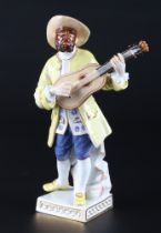 Meissen Boaro aus der Commedia dell'Arte, porcelain figure,