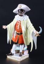 Meissen Dottore aus der Commedia dell'Arte, porcelain figure,