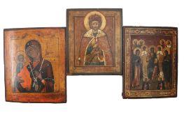 3 alte Ikonen, icons,