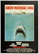 Film Poster Jaws Steven Spielberg