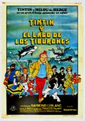 Film Poster Tintin and the Lake of Sharks Herge